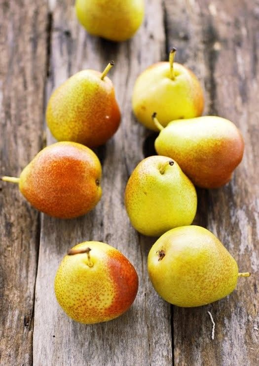La poire, fruit de saison